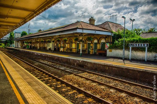 Lisburn Train Station