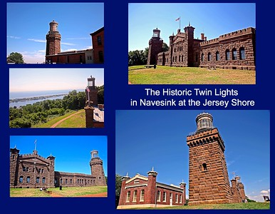 The Twin Lights in the Atlantic Highlands