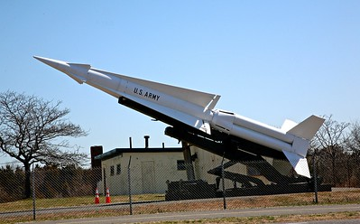 Nike Missile Located in Fort Hood at Sandy Hook
