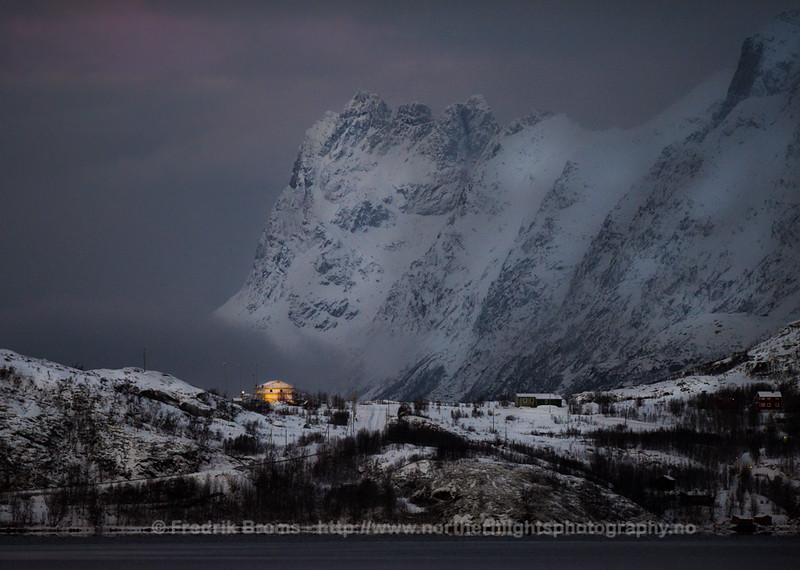 Norwegian Landscape on a Grey Day