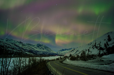 #Lights over Thompson Pass, AK - P/@kbdesignphoto