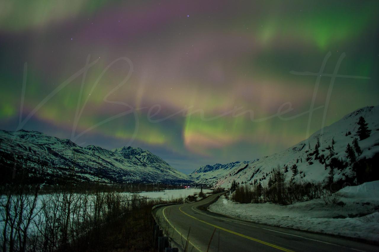 #Lights over Thompson Pass, AK - P/@kbdesignphoto
