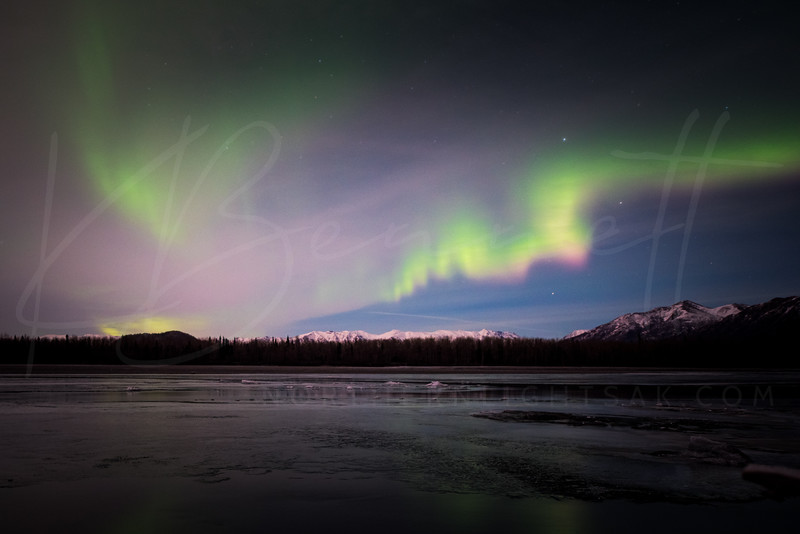 Northern Aurora over Knik River