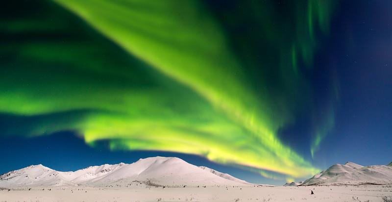 Northern Lights Yukon Canada