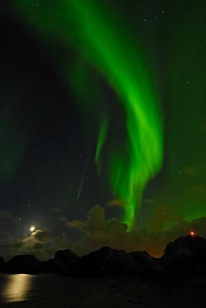 Northern Lights over North Norway, September 2007.