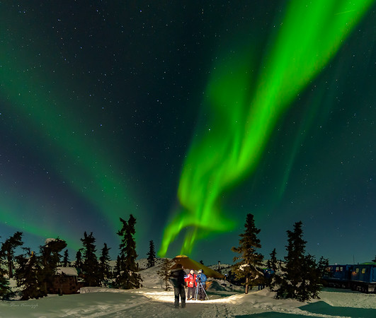 Alaska and Northern Lights