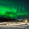 Aurora Dancing Above Inari