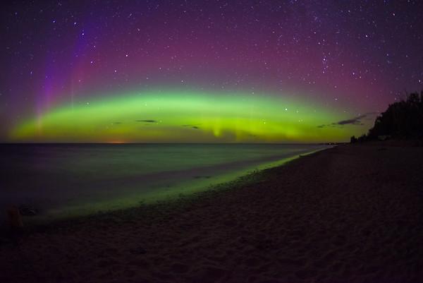 Aurora over Superior