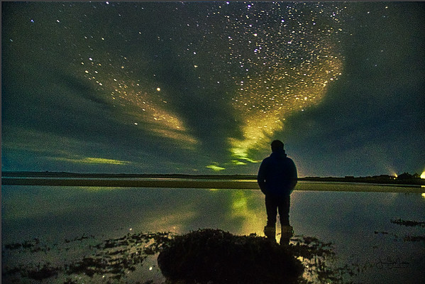 Mesmerised by the beauty of the night