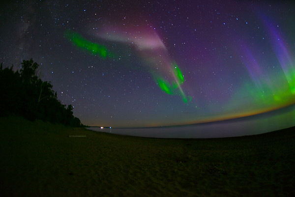 The Milky Way, S.T.E.V.E., and the Northern Lights!