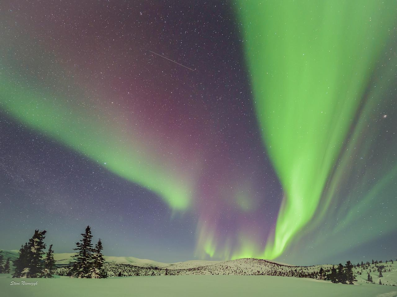 Raging Northern Lights