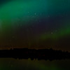 The Northern Lights from Carbury Dam
