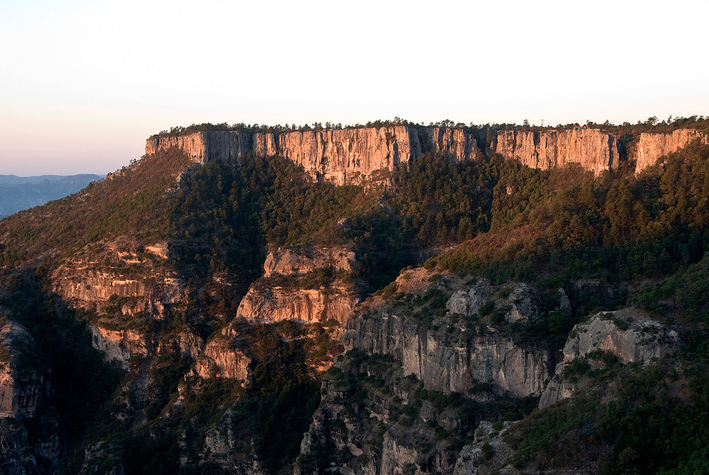 Copper Canyon at sunrise