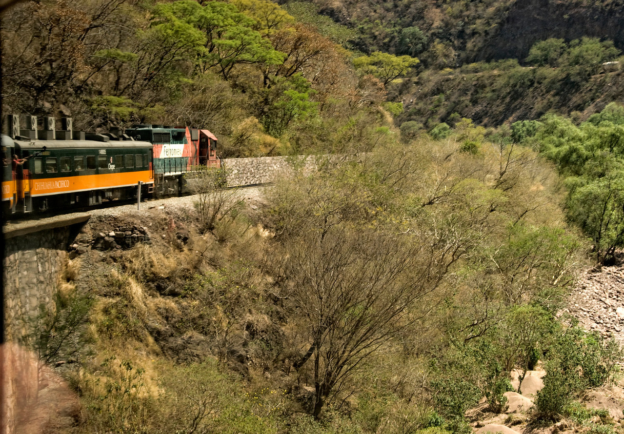 El Chepe Copper Canyon train