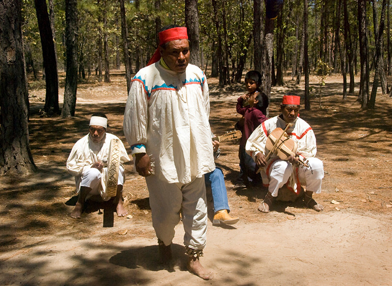 Tarahumara Indian dancer