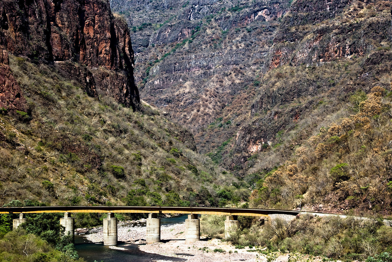 Bridge for El Chepe Copper Canyon train