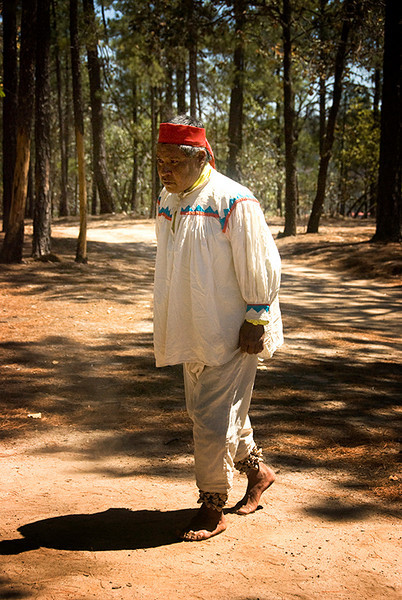 Tarahumara Indian dancer 1