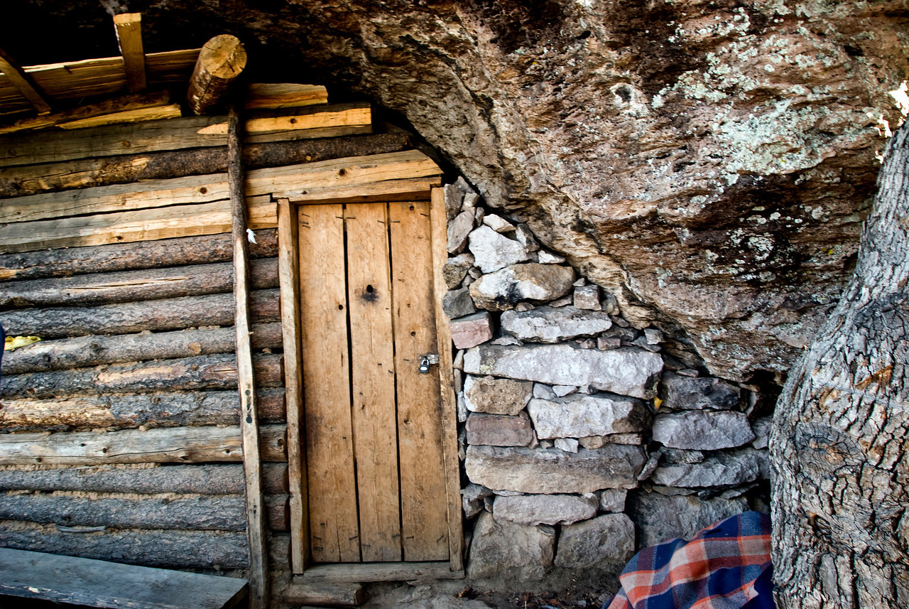 Front door of cave dwelling