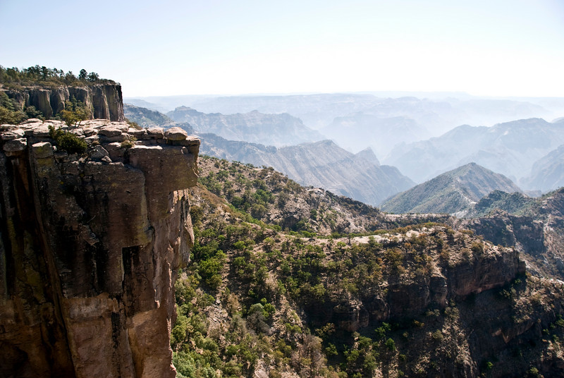 Copper Canyon view from lookout point