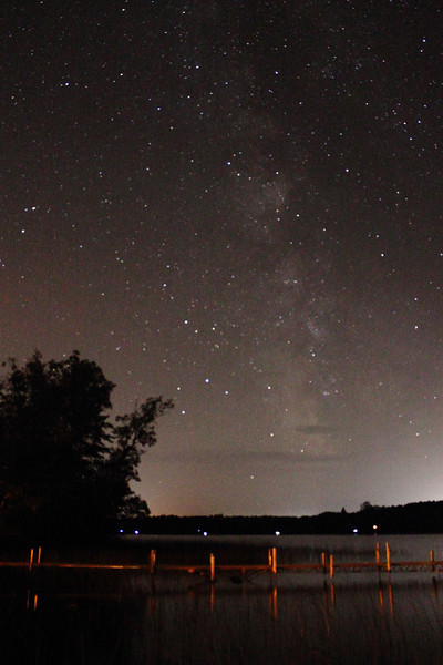 Milky Way Over Bass Lake