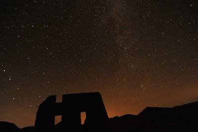 Ruins at night 2