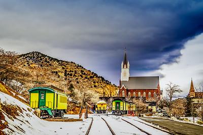 Virginia City, VT Railroad, Winter 2016
