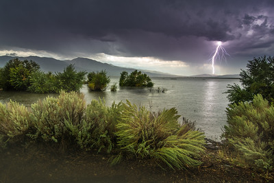 Washoe Lake Lightning  Sept 2017
