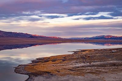 Walker Lake sunset 2327