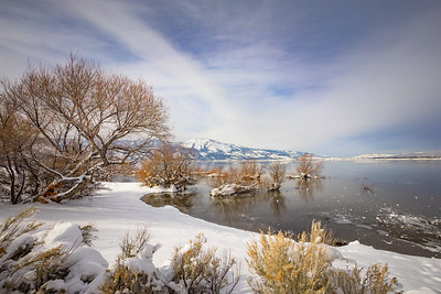 Washoe Lake Winter 7608