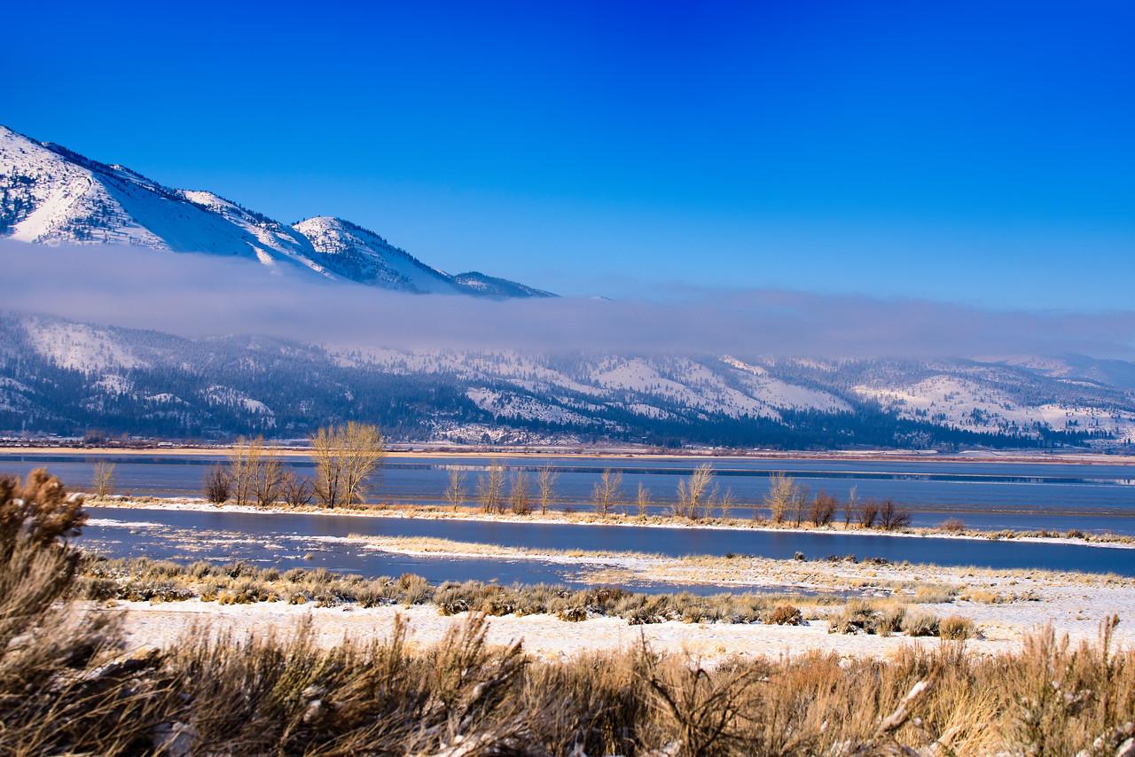 New Water in Washoe Lake