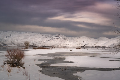 Washoe Lake Winter 9038