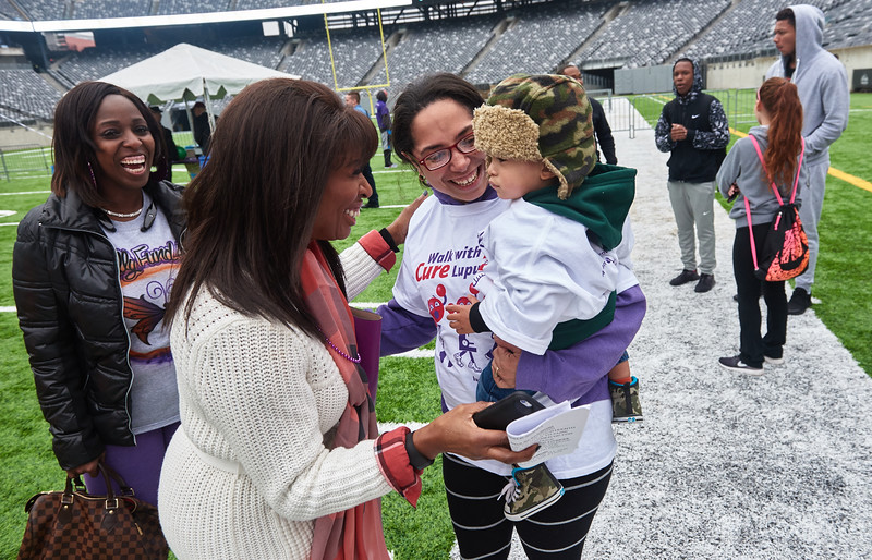 The 2016 Walkathon in MetLife Stadium