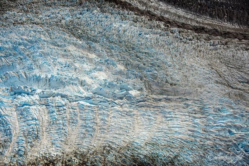 Glacier Los Leones, south glacier, Parque Nacional Laguna San Rafael, Aysen, Patagonia