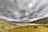 Storm clouds over the Valle Chacabuco