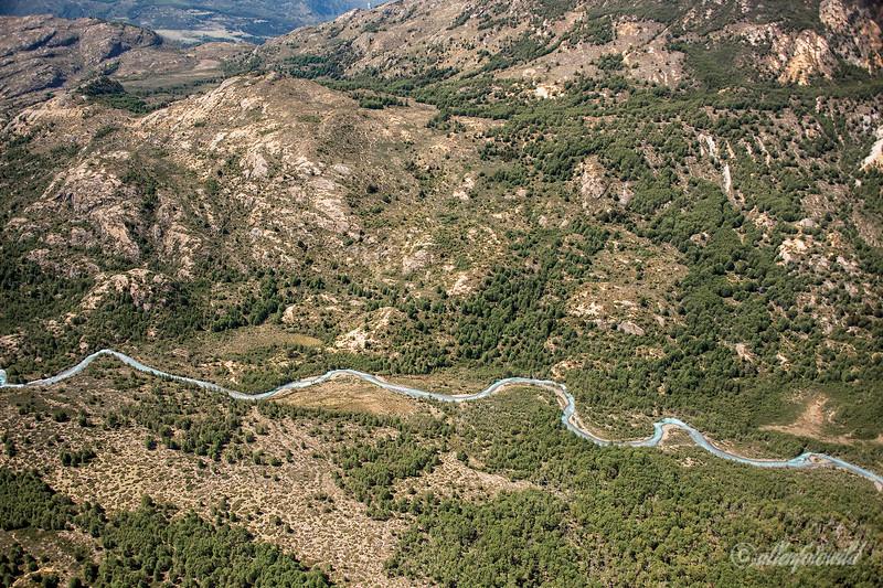 Rio Melaquina, Parque Nacional Laguna San Rafael, Aysen, Patagonia