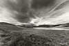 Storm clouds, Chacabuco Valley BW, Patagonia
