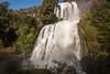 Waterfall near Lago Bertrand, Patagonia, Chile