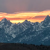 Grand Tetons on Fire