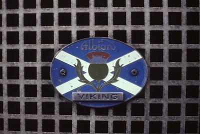 Northern NNV73 Albion badge Peterhead depot Mar 82