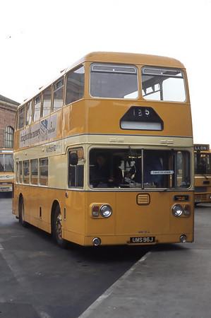 Northern NRF13 Aberdeen Bus Station Mar 82