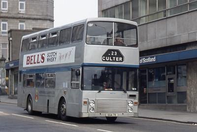 Northern NLO7 Holburn Street Aberdeen Mar 82