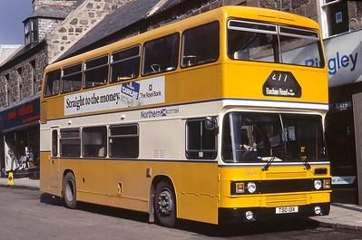 Northern NLO13 Broad Street Fraserburgh Mar 82