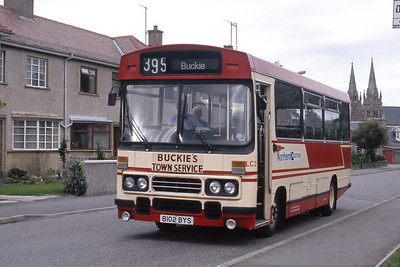 Northern_Central Hire LC2 Sutherland Crescent Buckie 1 Sep 88