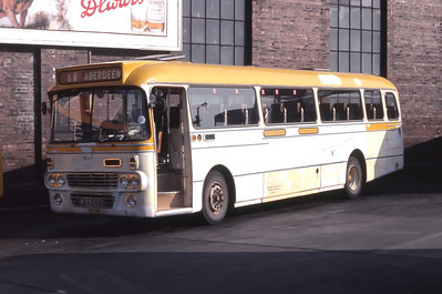 Northern NT106 Aberdeen Bus Station Mar 82