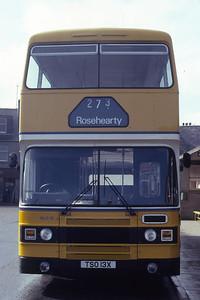 Northern NLO13 Fraserburgh Bus Station Mar 82