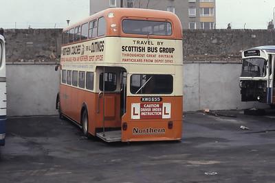Northern N227DT Gairn Terrace Aberdeen Mar 82