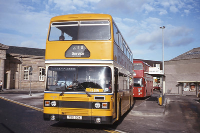 Northern NLO20 Inverness Bus Station Aug 83
