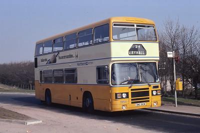 Northern NLO1 Airyhall Terminus Aberdeen 1 Mar 82