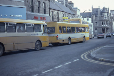 Northern Broad Street Fraserburgh line up Mar 82