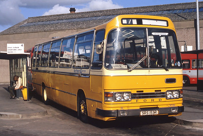 Northern NT153 Inverness Bus Station Jul 82